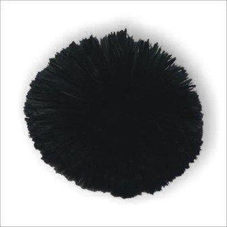 Black pompom POM-CZ