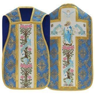 "Marian roman chasuble ""Ave Maria"" R473-N9"