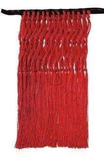 Red fringes FRINGES-C