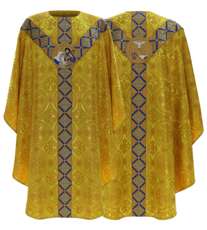 """Semi gothic Chasuble """"Christmas"""" GY475-G8"""