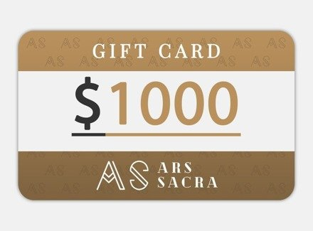 GIFT CARD 1000 USD