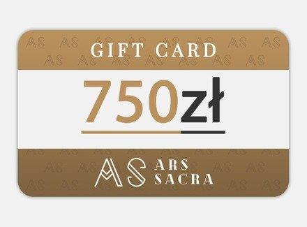 GIFT CARD 750 PLN