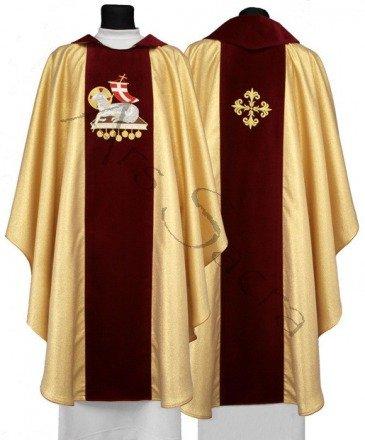"Gothic Chasuble ""Lamb"" 601-AGC"