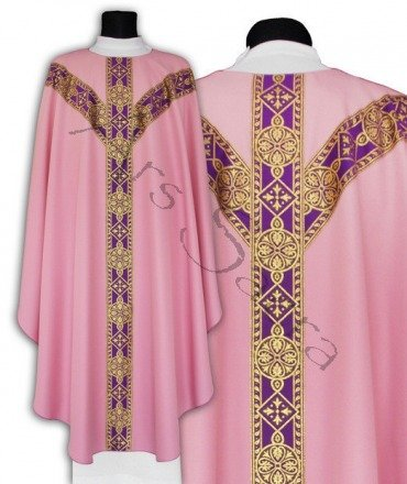 Semi Gothic Chasuble GY201-R