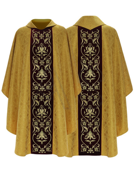 Chasuble gothique 674-ACZ25