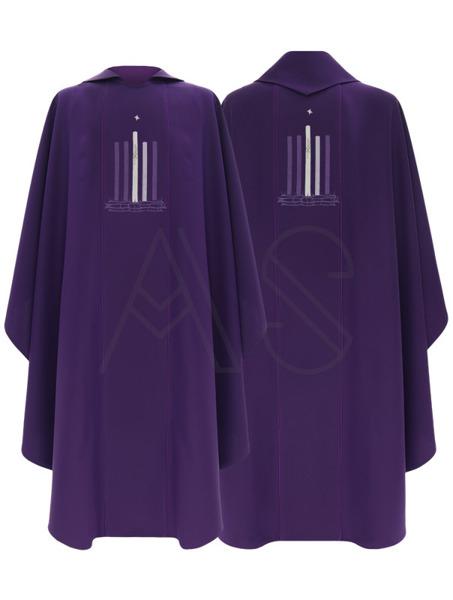 """Chasuble gothique """"Avent"""" 783-Z"""
