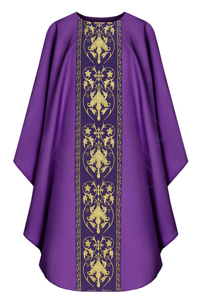 Chasuble gothique G557-F