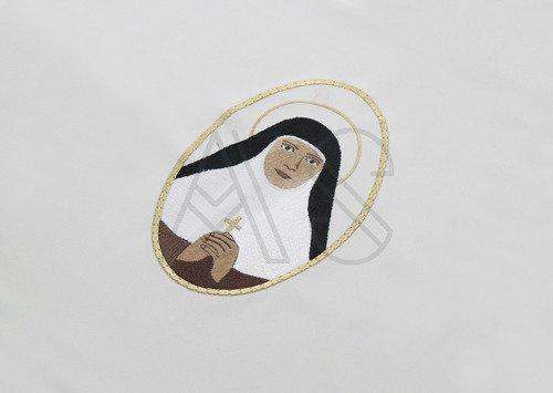 "Chasuble gothique ""Mariam Thresia Chiramel Mankidiyan "" 454-Z25"