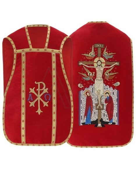 Chasuble romaine R457-AKA