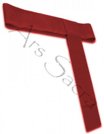 Cordon rouge pour soutane CIN-C