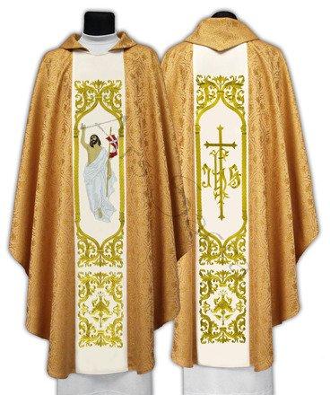 """Gotische Kasel """"Jesus ist auferstanden"""" 517-G16"""