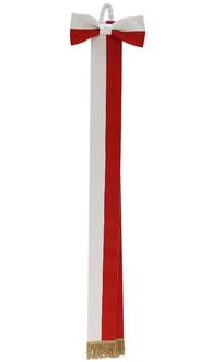 Szarfa biało-czerwona WSTA-BC-G