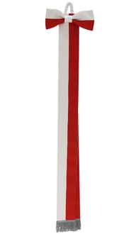 Szarfa biało-czerwona WSTA-BC-S
