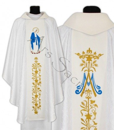 "Maryjny ornat ""Matka Boża Niepokalana"" 629-AB25"