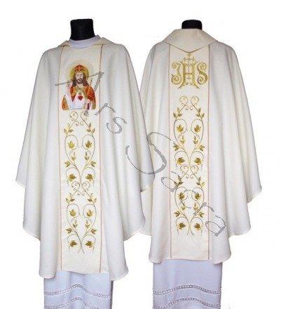 "Ornat gotycki ""Jesus Chrystus Król"" 543-K"