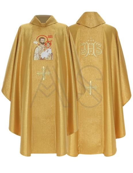 """Ornat gotycki """"św. Józef z Nazaretu"""" 432-G63g"""