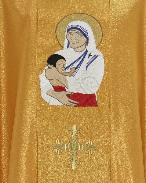 "Ornat gotycki ""św. Matka Teresa z Kalkuty"" 433-G63g"