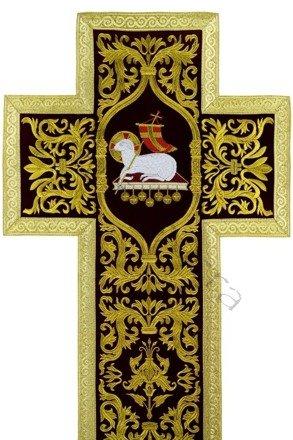 """Ornat rzymski """"Jezus Zmartwychwstały"""" R682-AKC25"""