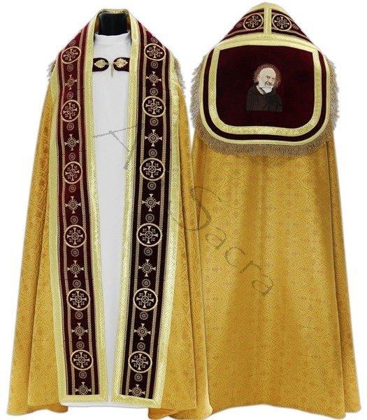 """Capa pluvial romana """"San Padre Pío"""" KT579-AB25h29"""