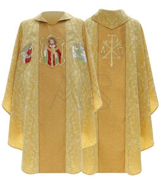 """Casulla gótica """"Jesús el sacerdote"""" 458-GG26"""