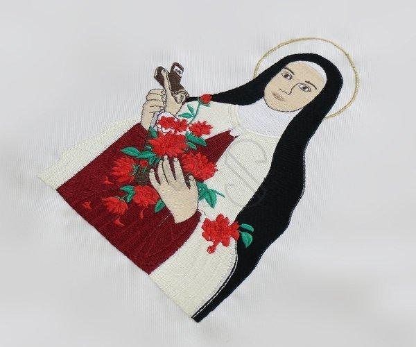"""Casulla mariana """"Santa Teresa"""" 633-K25"""