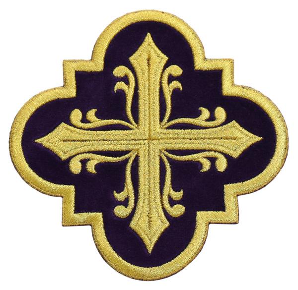"""Emblema """"Cross"""" AP-CROSS-K"""