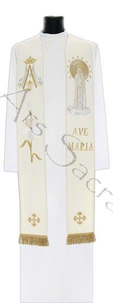 """Estola gótica """"Nuestra Señora de Fátima"""" SH728-Kf"""